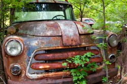 Truck All Rusted